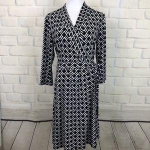NWOT Liz Claiborne Faux Wrap Dress